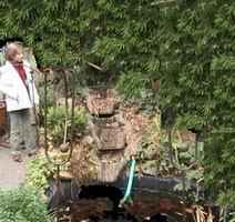 ein bachlauf zum gartenteich, Garten und erstellen